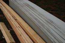 New cementitious siding