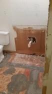 Upstairs vanity gone