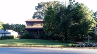 View from across street