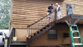 Removing the railing