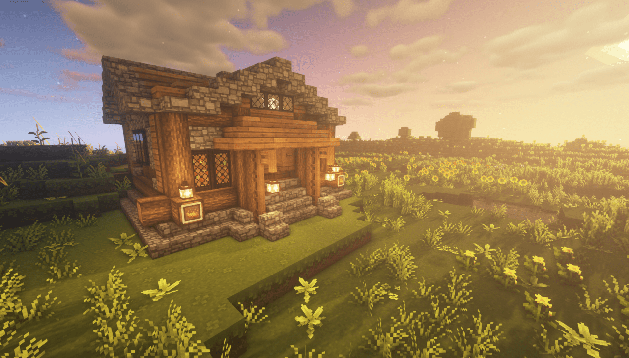 Cottagecore Cottage Cute Minecraft House