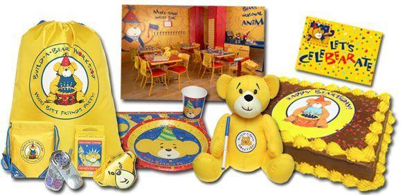 Build A Bear Workshop Build A Bear Workshop Birthday Party Goodies