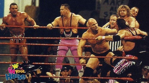 Tape Machines Are Rolling — The Hart Foundation (Bret Hart, Owen Hart, British...