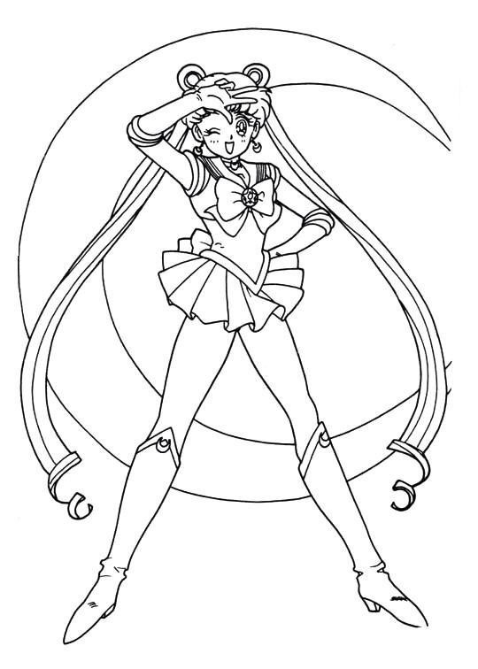 Sailor Moon Coloring Pages Tumblr