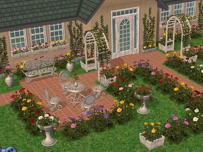 wood for sims 2 rosery a rose