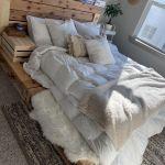 Isimsiz Pallet Platform Bed Queen