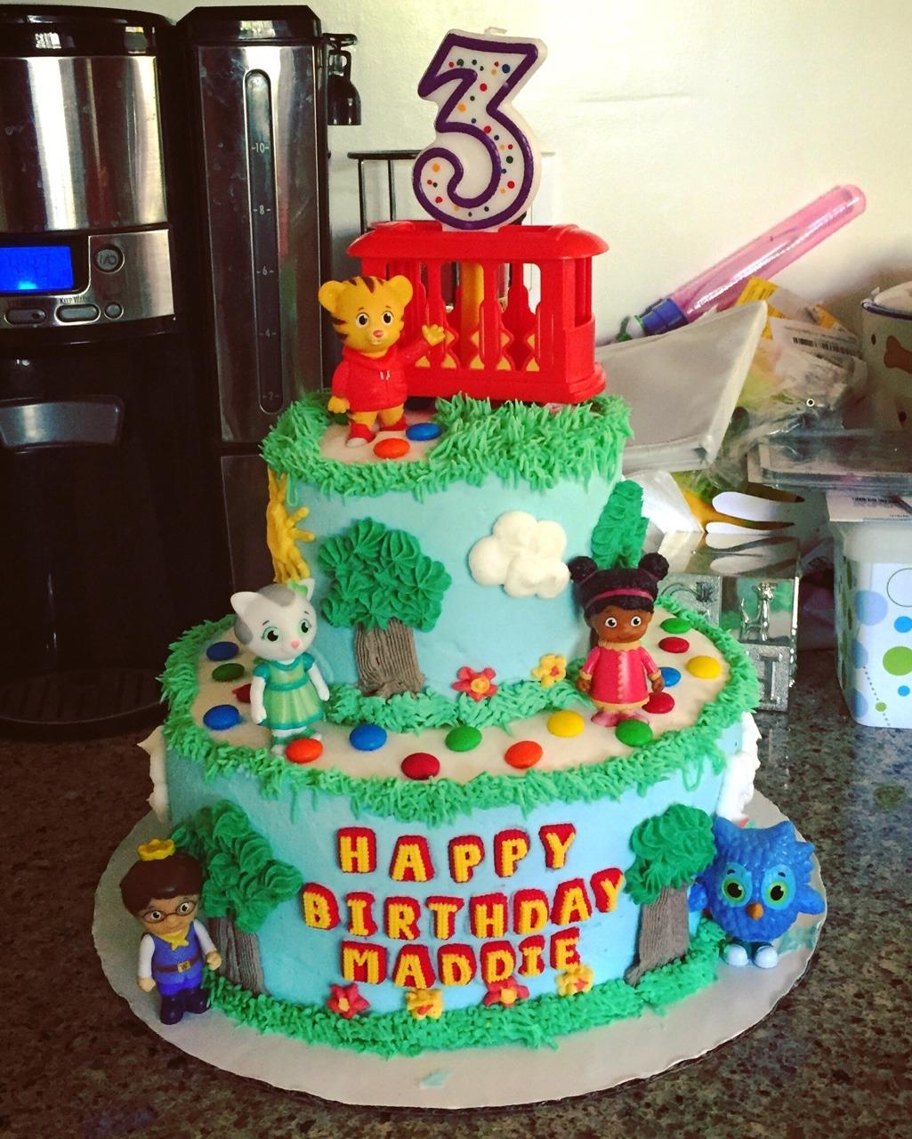 Mary Johnson Daniel Tiger Birthday Cake I M Not A
