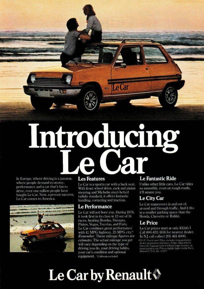 Renault Le Car (1977)