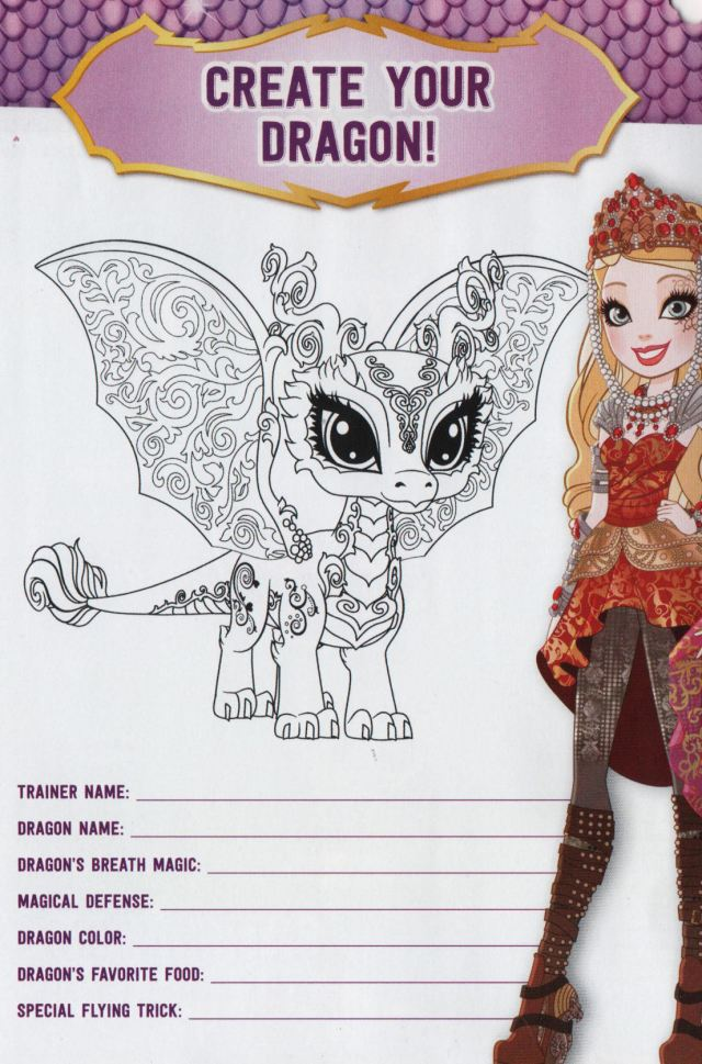 Minty Flair — Create Your Dragon From the Ever After High