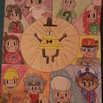 Gravity Is Falling The Zodiacs Gravity Falls