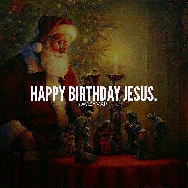Happy Birthday Jesus Merrychristmas Christmas