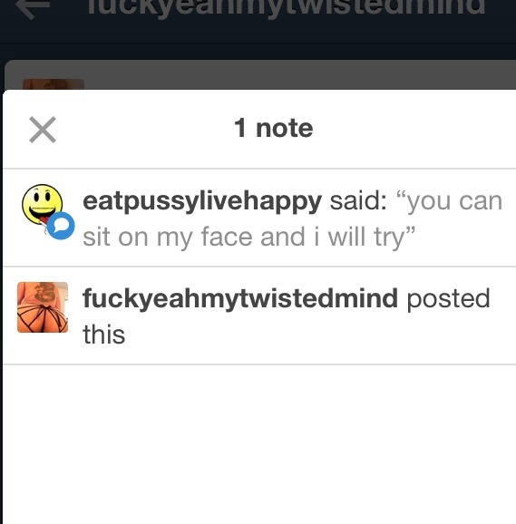 eat pussy live happy tumblr