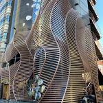 Parametricarchitecture Nefertiti Restaurant Facade In Tokyo Japan