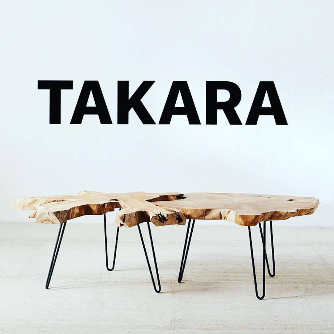 t a k a r a table basse tronc d arbre