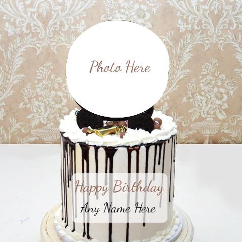 Happy Birthday Cake Photo With Name
