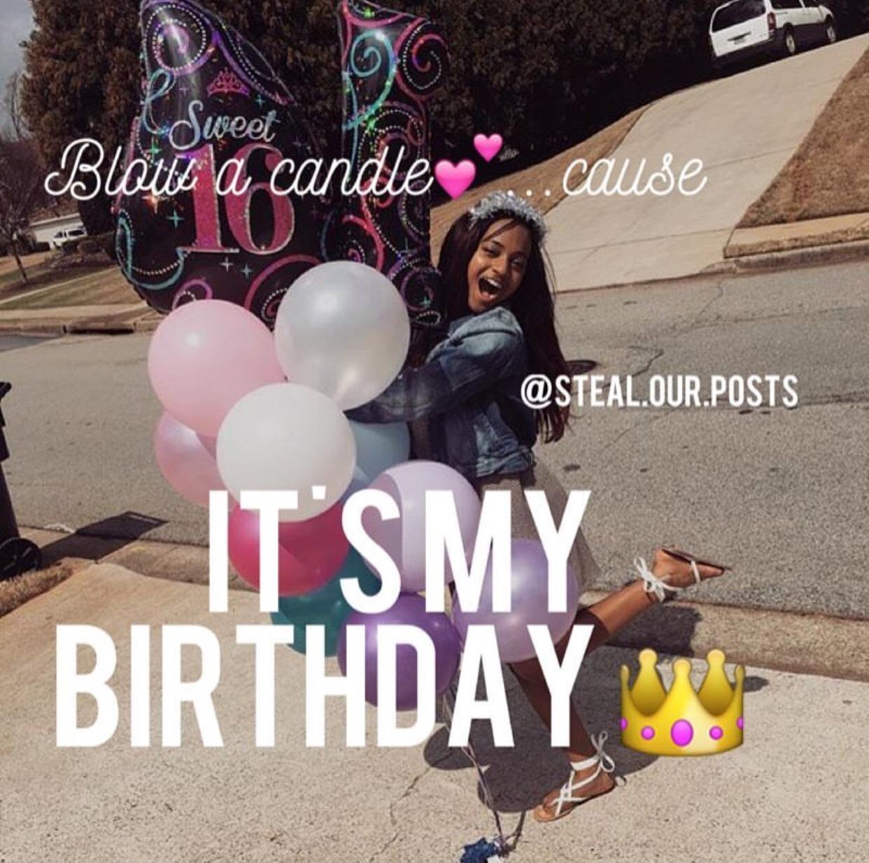 Backish Simtric Candixsims4 It S My Birthday