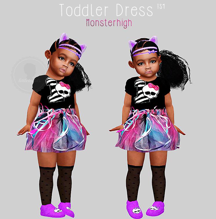 Littletodds Monsterhigh Birthday 1 Dress Simfileshare