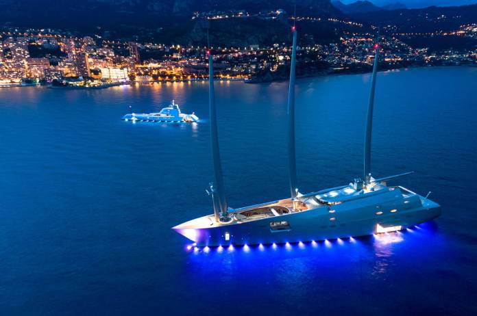 Meet Sailing Yacht A, The Ultimate Sailboat With...
