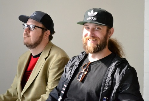 Radio Boise DJs are popping up all over #Treefort2019! Andy O and DJ Winkle of Krush Korner [front] hosted an insightful Storyfort panel with Hip-Hop artists Madisun Proof, Zero, Eleven and Weighn Beats on Friday afternoon. -dig #RadioBoiseAlive #MediaSponsor