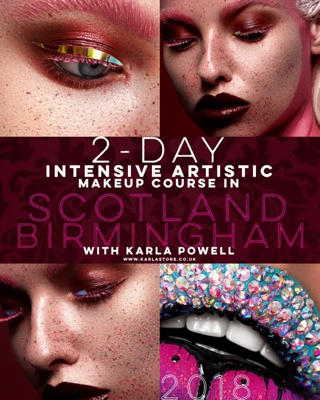 Karla Powell 2018 Makeup Courses So