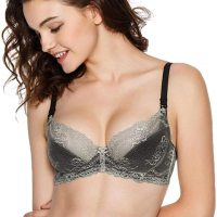 Bella Unlined Floral Sheer Lace Demi Bra Non-Padded Comfort Lift Balconette Mesh Underwire for Women. Adorned with sheer mesh lace and floral trim, this unlined lace bra contours your every curve for a comfortable fit without the extra padding. Lightweight and luxe design makes this cute balconette bra ideal for any everyday activity. Add Bella Lace Bikini as the perfect matching bottom to complete the look. Mon, 28 Dec 2020 14:24:39 +0400