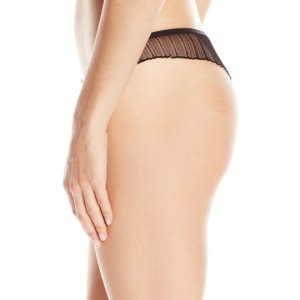 Women's Emma Thong. This sweet and sexy flutter thong combines lace and pleated mesh. , Sun, 31 Jan 2021 14: 24:28 +0000