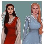 The Wheel Of Time Tidbits Egwene And Elayne By Enife