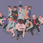 Skam Kpop Fanart Happy Treasure Debut My Art Is Available On