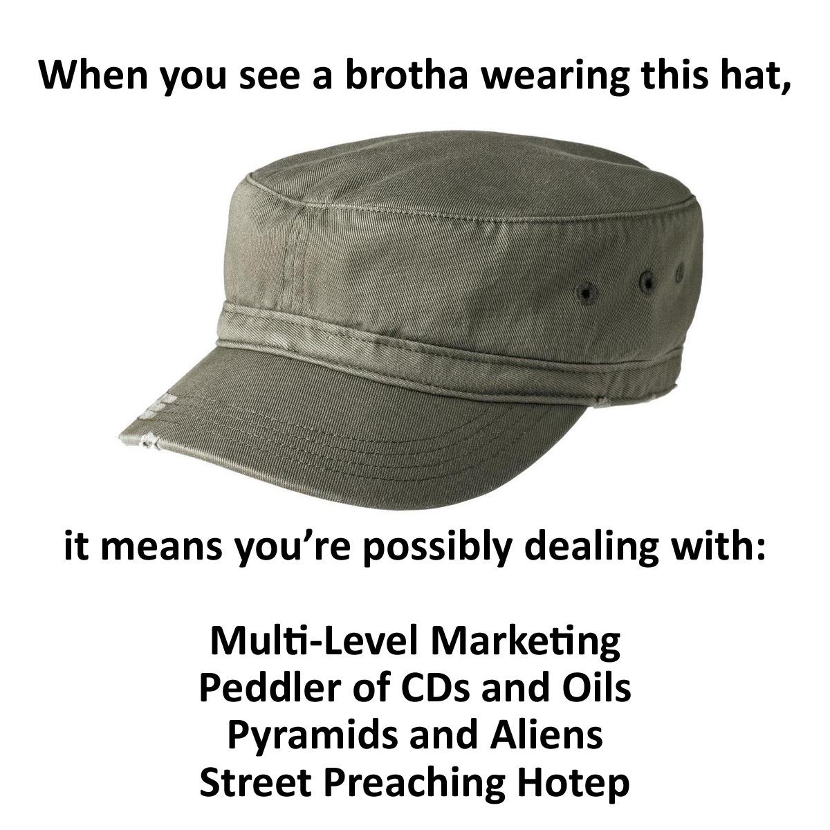 Hotep Hat Transparent Background
