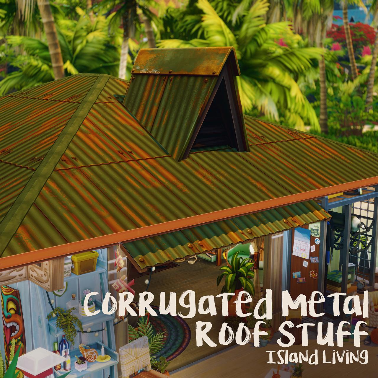 corrugated metal roof stuff