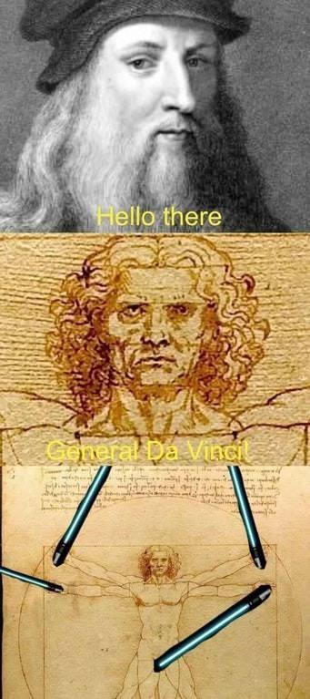 Prequel Memes Star Wars Da Vinci General Grievous Obi Wan