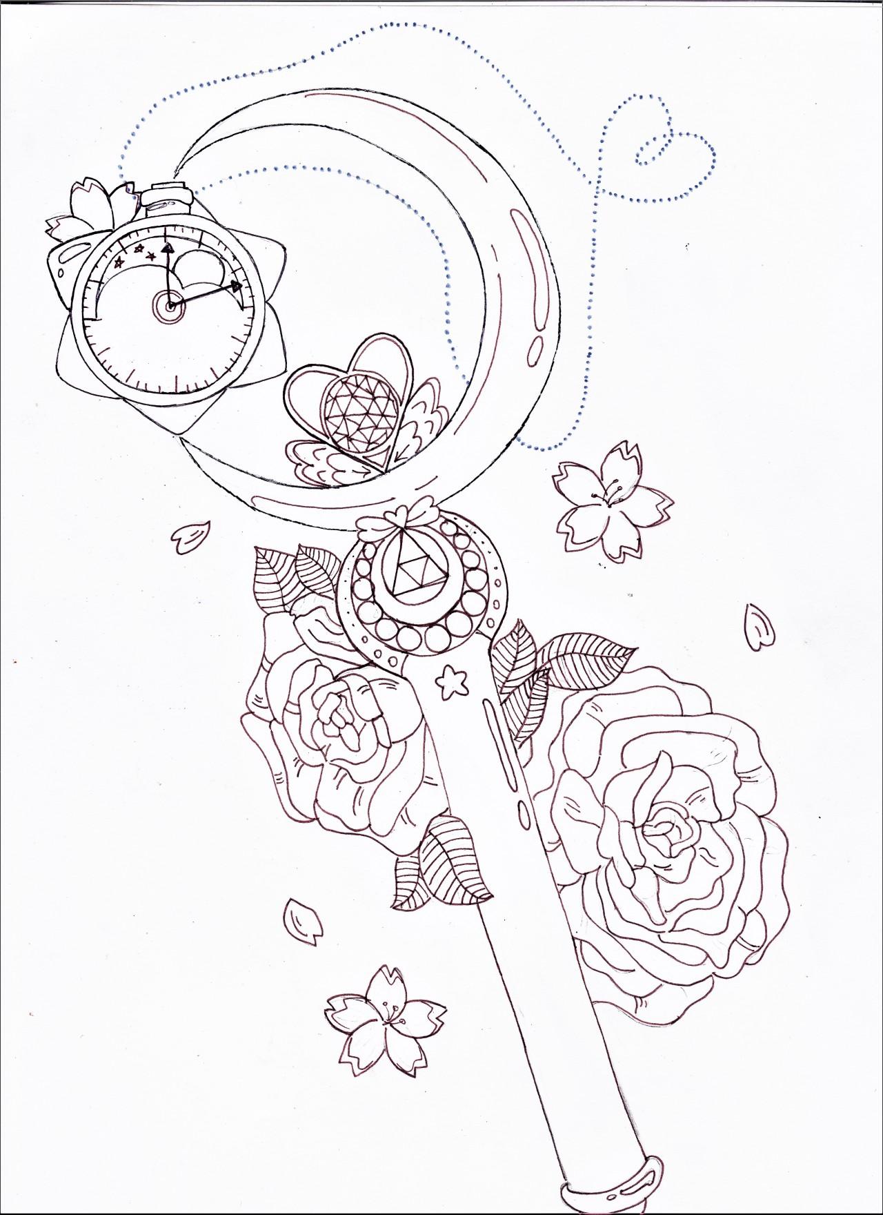 Sailor Moon Tattoos