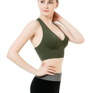Women's Racerback Sports Bras - Padded Seamless High Impact Support for Yoga Gym Workout Fitness.... , Fri, 27  Aug 2021 06:00:48 +0100