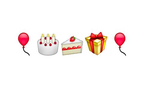 Emoji Blog Birthday Cake Emoji