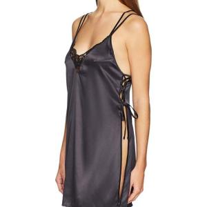 Women's Satin Chemise with Lace. This chemist has more of a loose, drapey fit rather than a fitted... , Sun, 1 9 Sep 2021 06:00:55 +0100