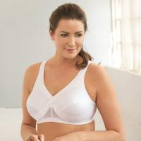 Women's Plus Size MagicLift Active Support Bra. Bra featuring moisture-wicking cotton-blend cups and cushioned  adjustable straps. Magic Lift cushioned inner-bust band for uplift, bust definition, and support. Stretch back with adj ustable hook-and-eye closure. Tue, 15 Sep 2020 09:36:34 +0400