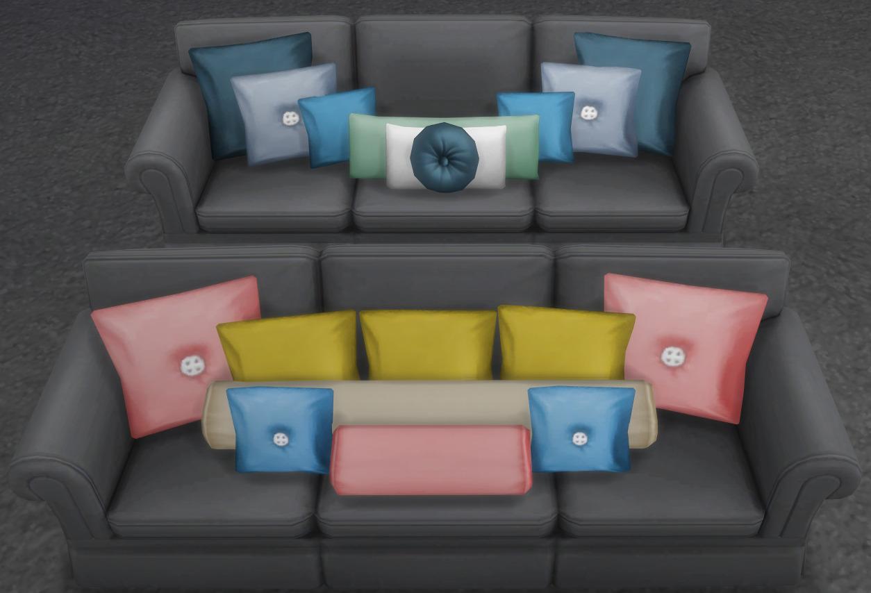 brazen lotus sofa height pillow set