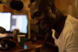 Had a blast live in the DJ Booth with Mississippi Bluesman Cedric Burnside. #Treefort2019 #RadioBoiseAlive CT