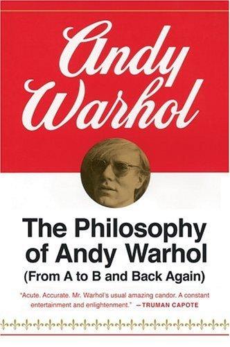 filosofia andy warhol copertine