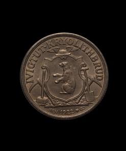 Grønland : 10 kroner kryolith 1922