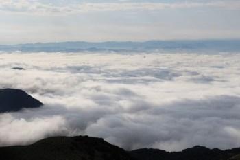 [大屯七星主峰] 超幸運!俯瞰陽明山的壯闊雲海