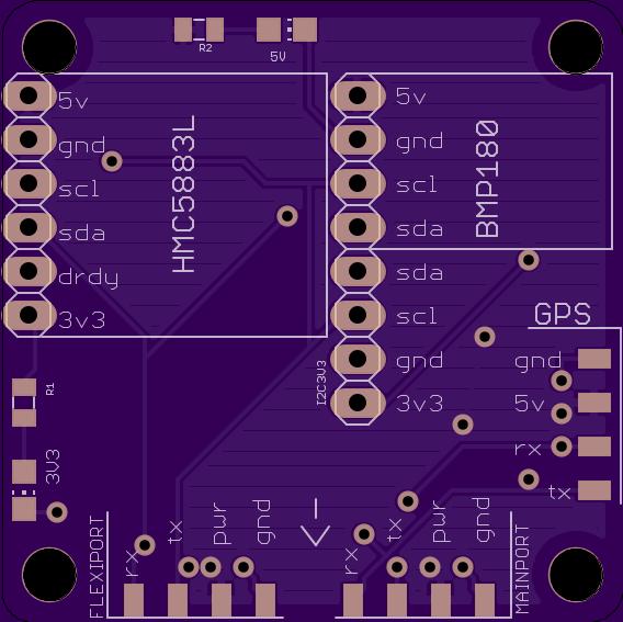 CC3D adon board front