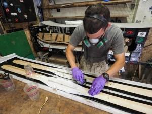 Binding mats
