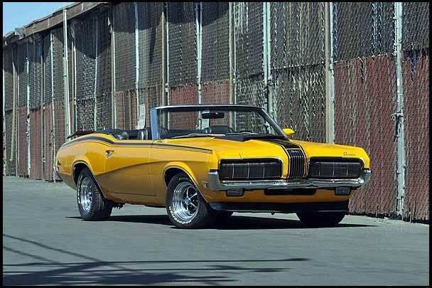 1970 Mercury Cougar XR7 428 Convertible