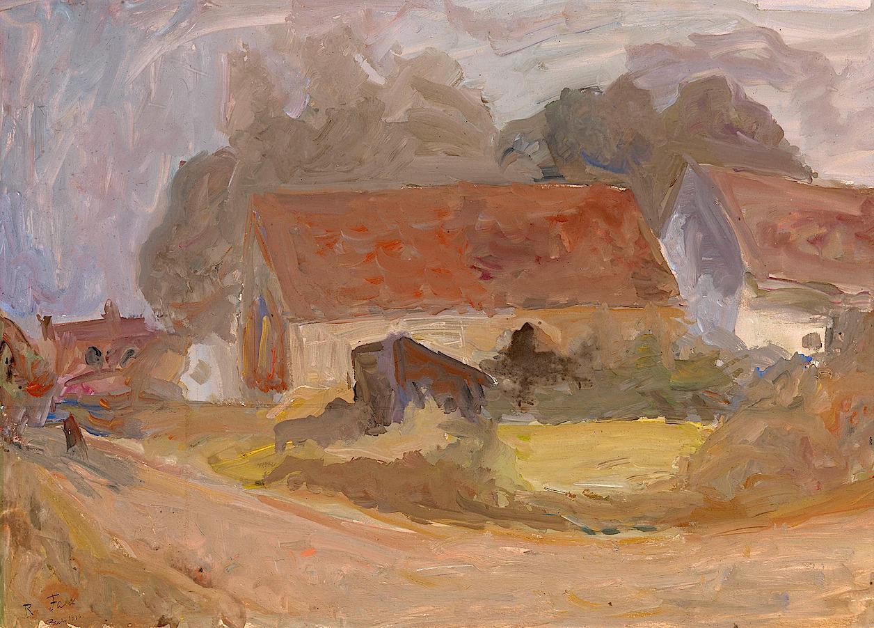 bofransson:  House Along the Road Robert Falk - 1936