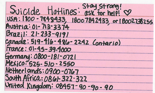 Image result for suicide hotline worldwide