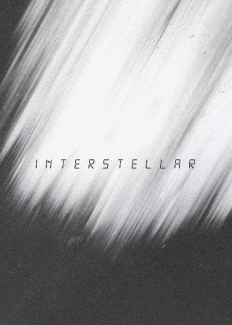 Day 7 of 365 – Interstellar Buy this Poster