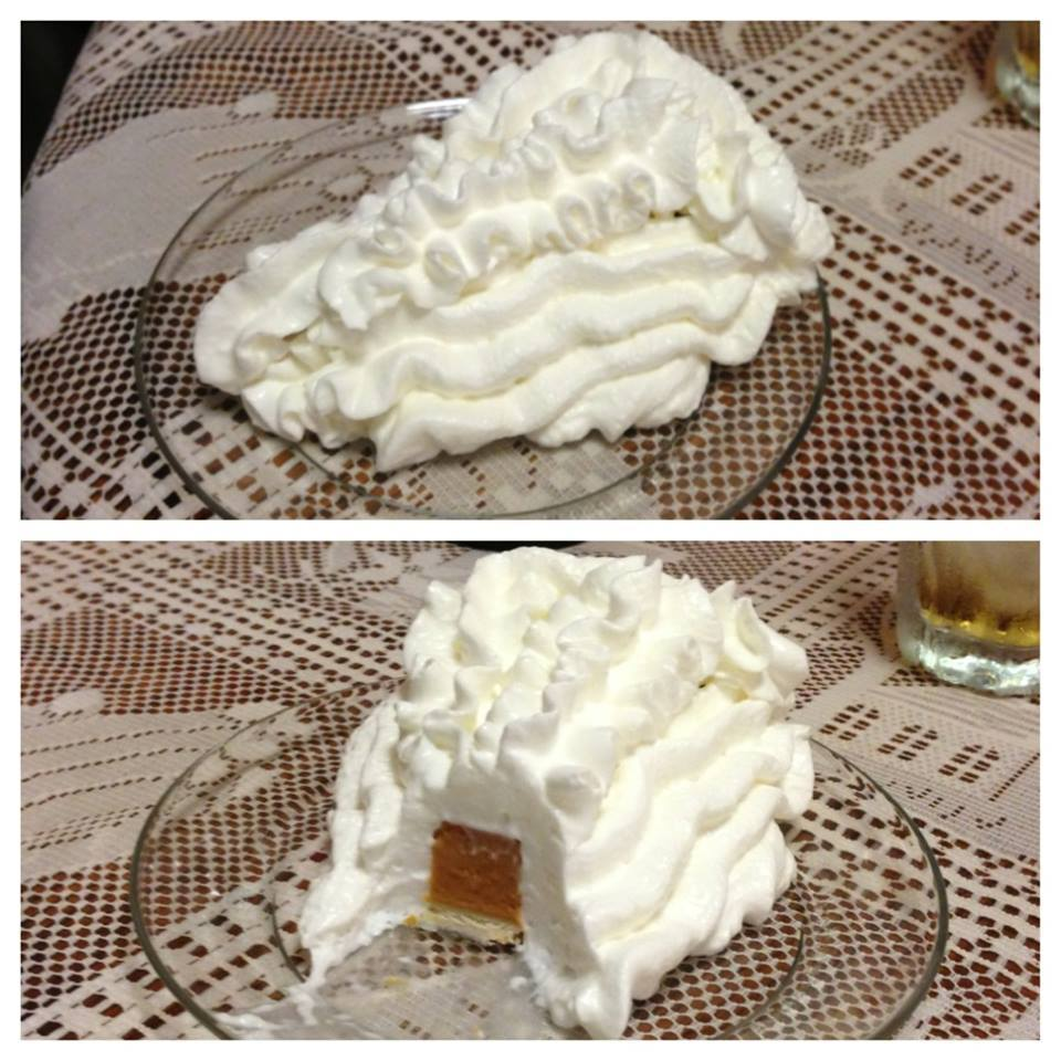 Image result for the right way to eat whipped topping