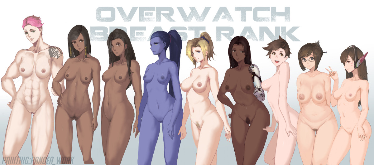 Overwatch Breast Rank (All Girls)