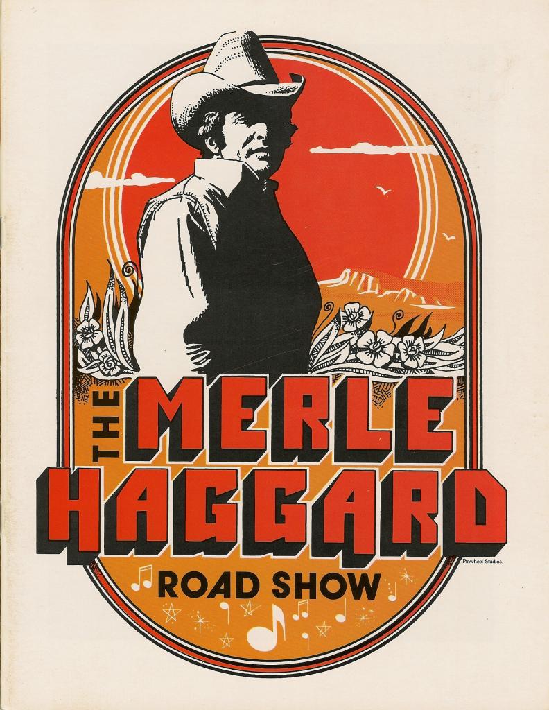 Merle Haggard tour program - 1978